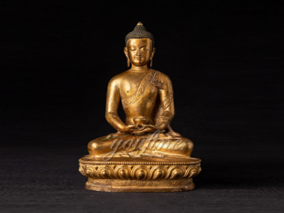 Lifesize Sitting Casting Bronze Buddha Statue for Sale BOKK-714