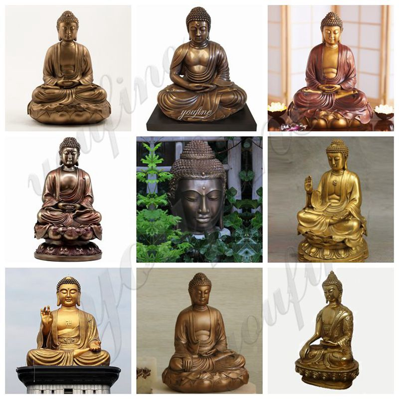 High Quality Custom Huge Size Bronze Buddha Statue for Sale