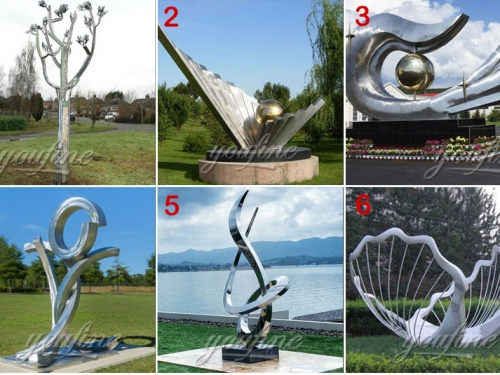 Characteristics of Urban Stainless Steel Sculpture Planning
